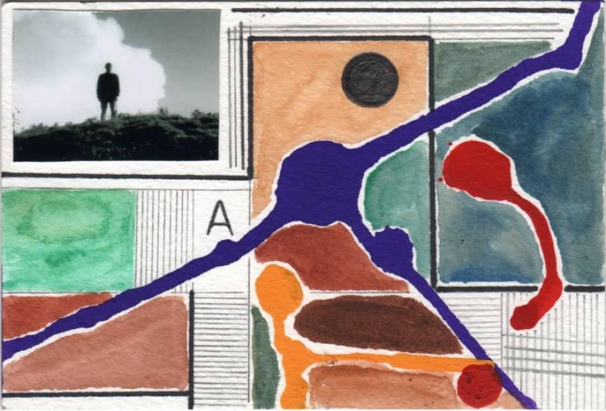 Daniele Virgilio, Collage und Zeichnung (Italien)